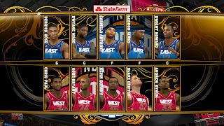 NBA 2K13 PC East versus West Starting Five Cheats
