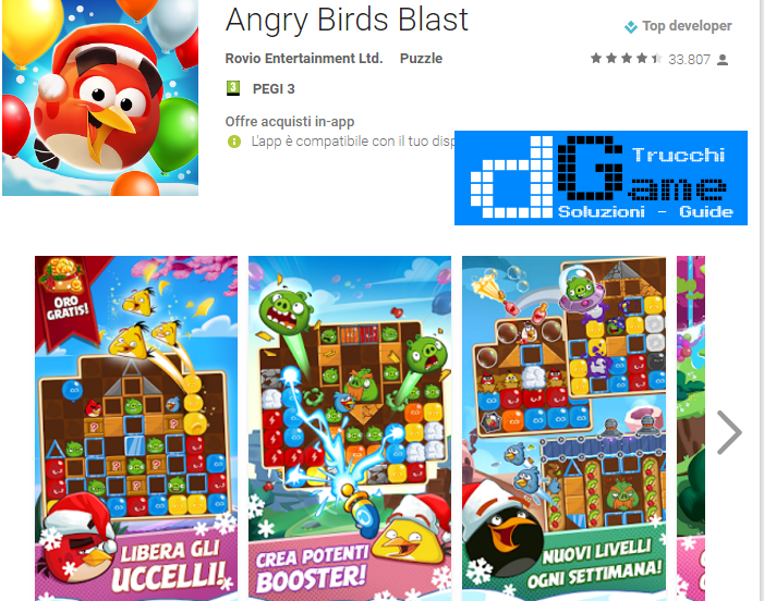 Trucchi Angry Birds Blast Mod Apk Android v1.2.4