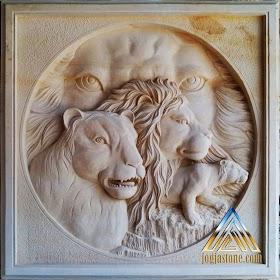 Relief singa