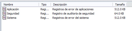Detectando problemas a través del Log de Windows