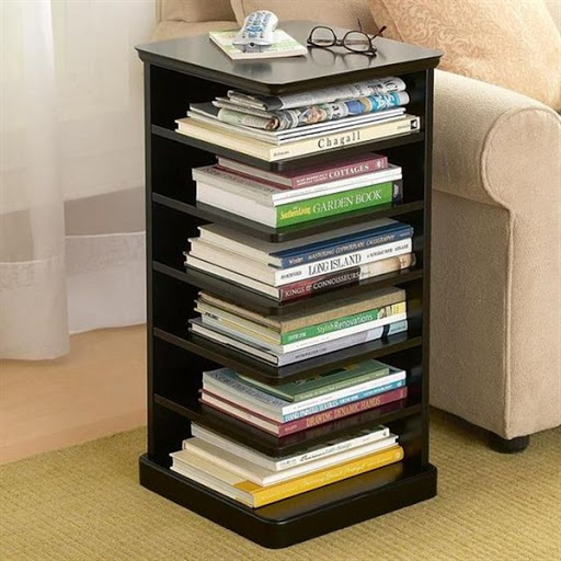 wood bookcase shelves