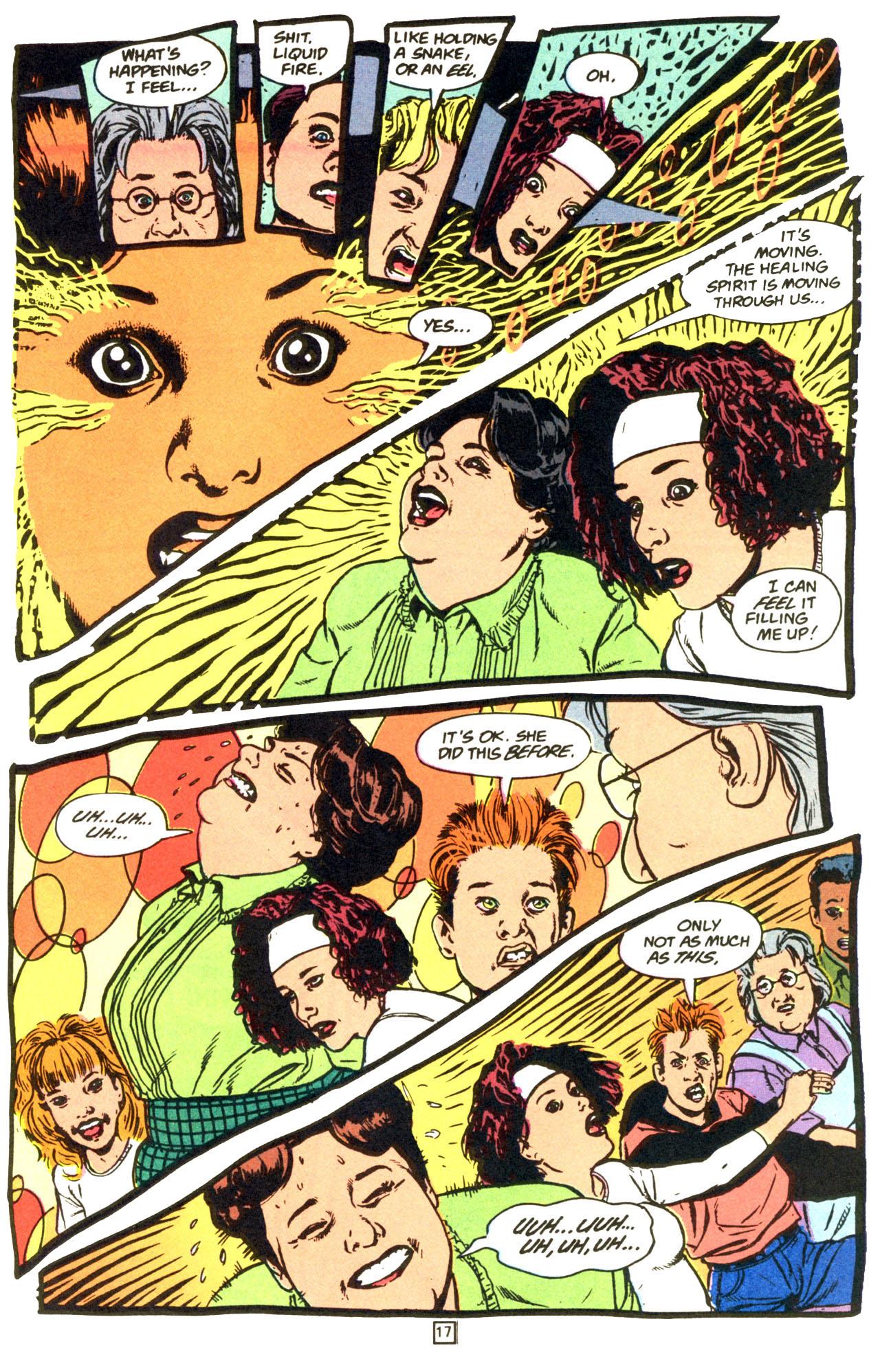 Read online Animal Man (1988) comic -  Issue #68 - 18