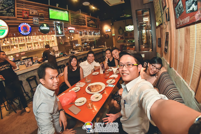 #TCSelfie to remember the night @ 3 Wise Monkeys Bistro & Bar Setiawalk Puchong