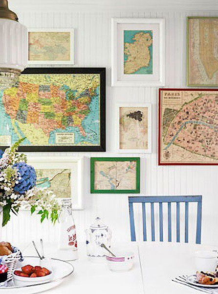 map-in-frames-interior-design-16 Map Bathroom Decor on map table decor, map cabinets, map painting, map accessories, map office decor, map decorating ideas, map home decor, map bedroom, map shower curtains, map nursery decor, map wall decor, map interior design, map vases, map party decor, map art decor,