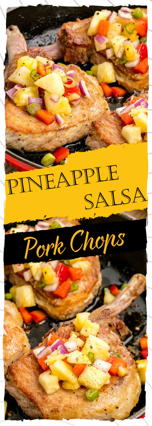 Pineapple Salsa Pork Chops Recipe