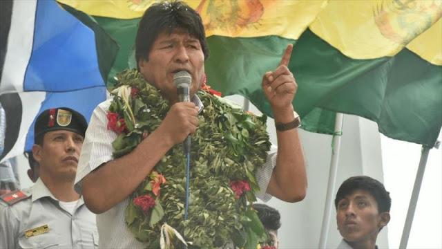 Morales: Trump protege a los dictadores y ataca a pueblos libres