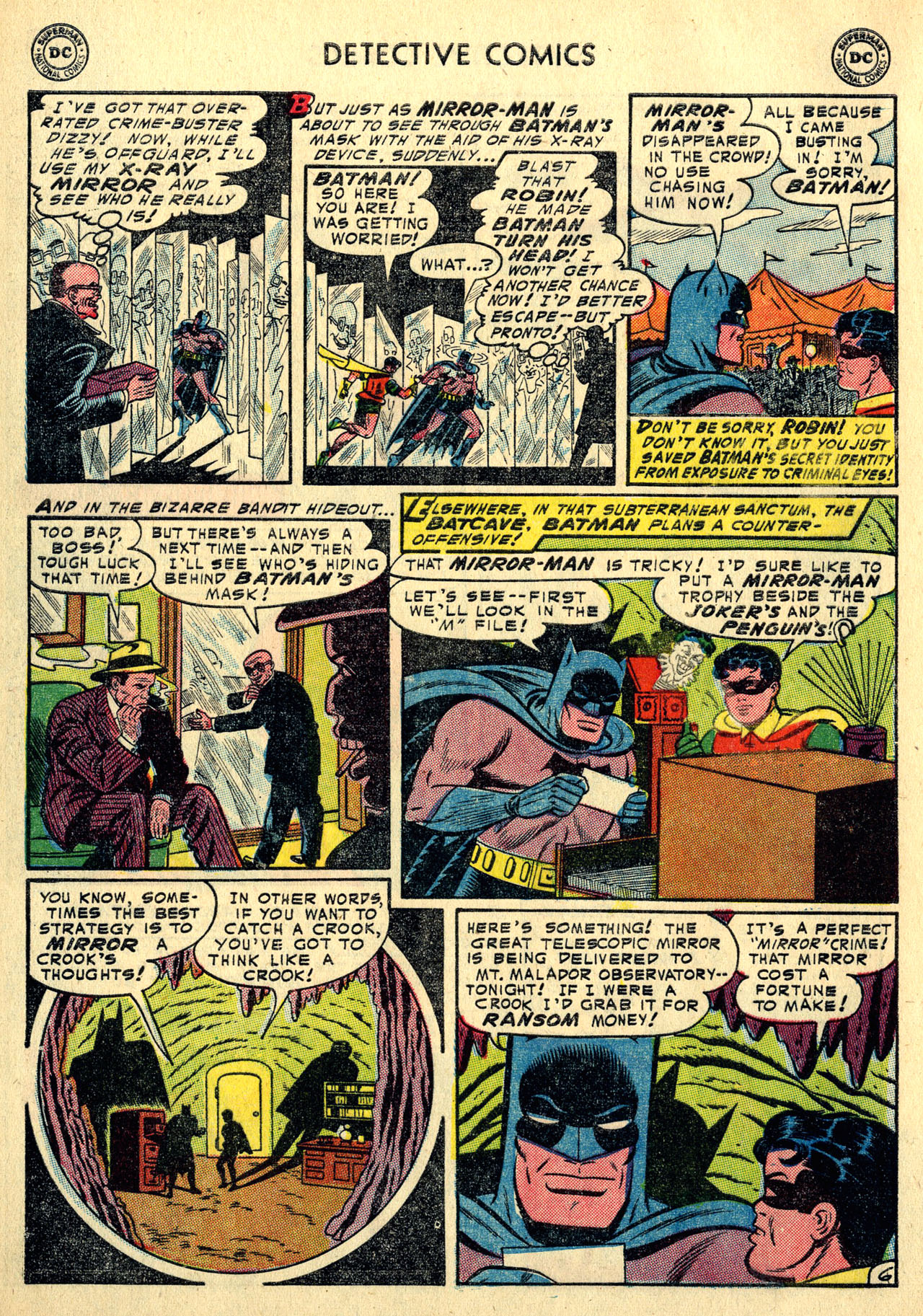 Read online Detective Comics (1937) comic -  Issue #213 - 8