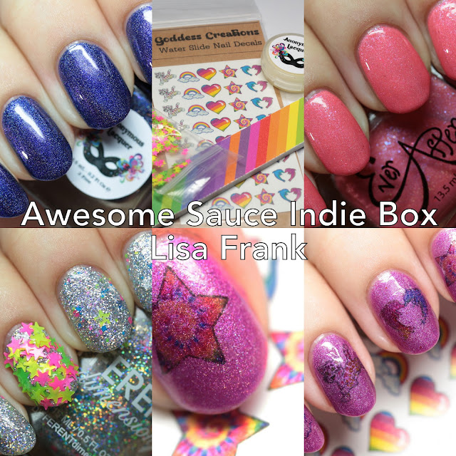 Awesome Sauce Indie Box Lisa Frank