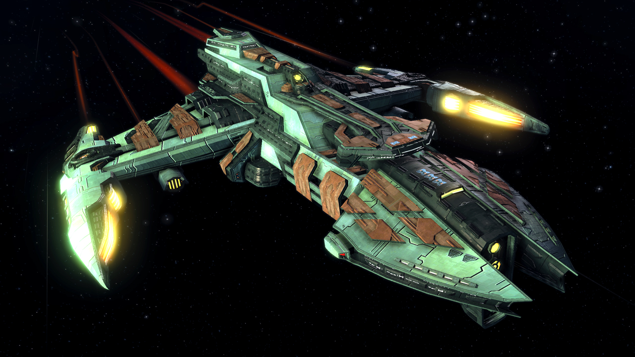 The trek collective star trek online 39 s latest ships for Design a space online