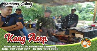 Bakar Kambing Guling di Lembang