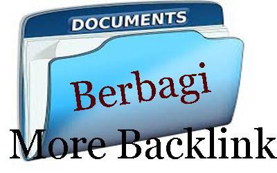 Membuat backlink dengan berbagi dokumen