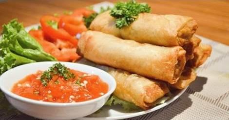 Membuat Lumpia Goreng Seafood Yang Punya Rasa Mantab