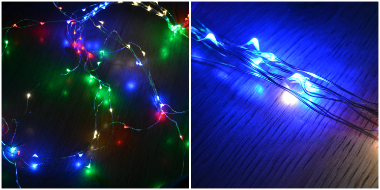 Ups and downs smiles and frowns. Christmas lights review
