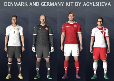PES 2017 Germany And Denmark New 2017 Kits a67eb9b34