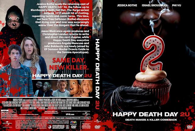 Happy Death Day 2U DVD Cover