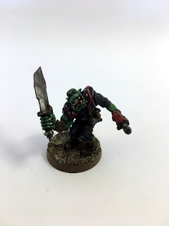 2nd Edition Orks - Goff Madboy - Front