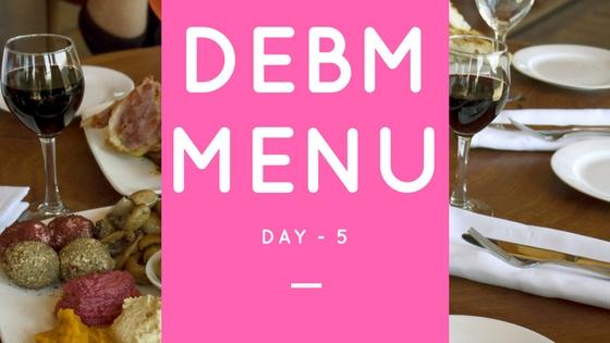Menu DEBM Diet Enak Bahagia Menyenangkan Hari Ke-5