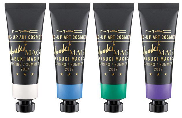MAC Kabuki Magic Paints