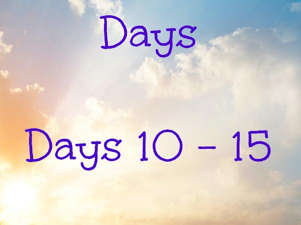 Our Summer Days - Days 10-15