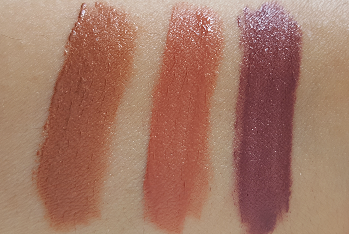 Swatches: 201 Dea Lips, 211 babe-In, 212 Nude-ist L´Oréal Paris - Summer Makeup Launches 2017 - L´Oréal Paris - LIP PAINT Matte NUDES - je 7.95 Euro - Madame Keke Beauty & Lifestyle Blog