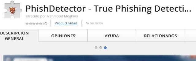 PhishDetector - Solo Nuevas