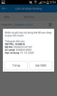 App uy tín kiếm tiền đổi thẻ điện thoại cực nhanh tháng 9/2016