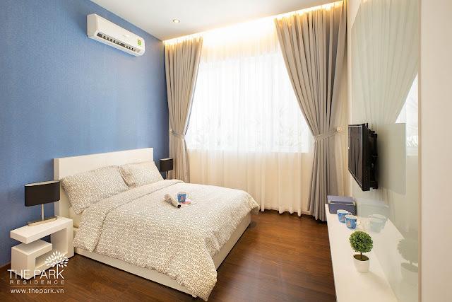 Phòng ngủ căn hộ The Park Residence