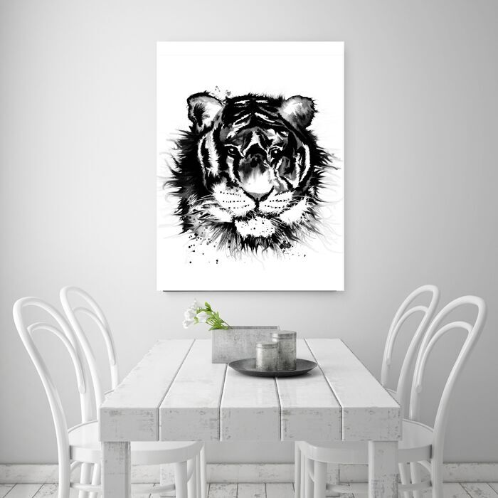 tiger, tigern, tigrar, tavla, tavlor, poster, posters, konsttryck, print, prints, affisch, affischer, annelies design, webbutik, webbutiker, webshop, inredning, plakat, plakater, nettbutikk, nettbutikker, nätbutik, nätbutiker