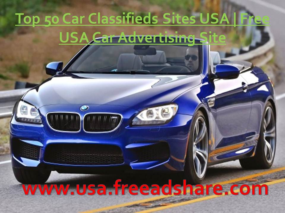 Top 50 Car Classifieds Sites USA | Free Ad Posting {Car Classifieds ...
