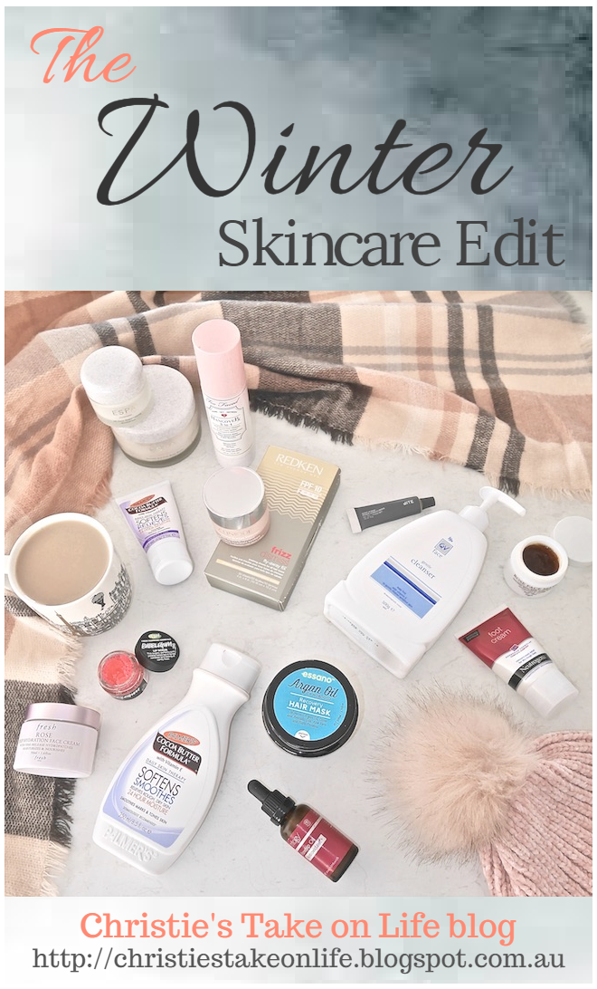 My go to Winter skin, hair and body care products