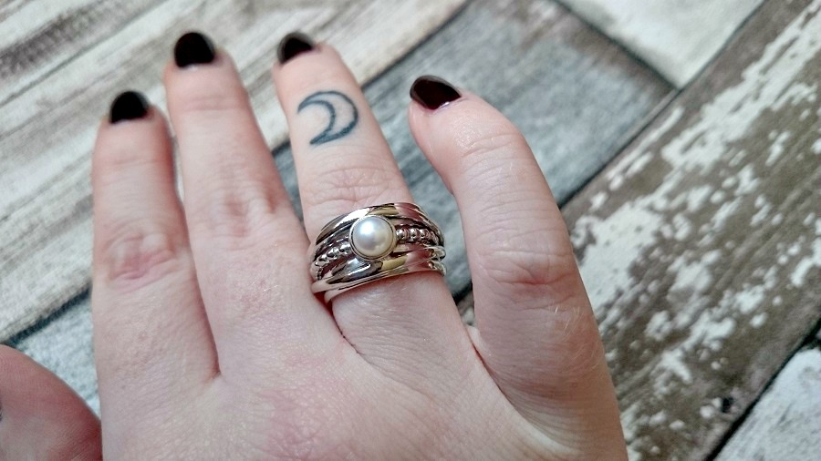 Boho Silver Statement Ring, Sterling Silver Jewellery, affordable gemstone jewellery, gemporia, The Style Guide Blog, Style blog