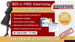 Cara Mendaftar dan Bukti Pembayaran BidVertiser Alternatif Google Adsense Terbaik