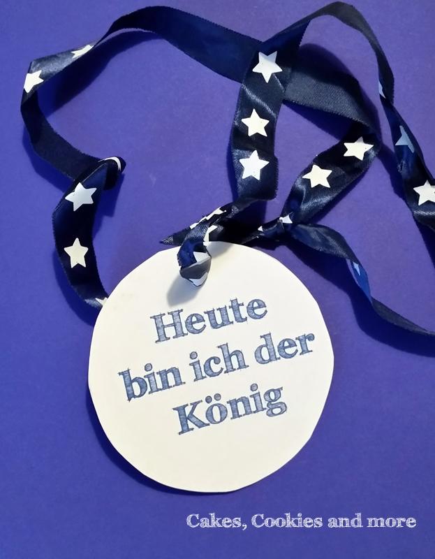 Eine Medaille für den König