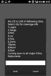 See Full List Of States In Nigerian With 4G Network Coverage