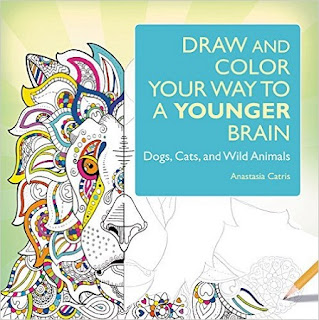 DRAW AND COLOR YOUR WAY TO A YOUNGER BRAIN cover