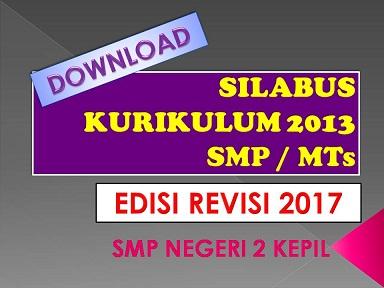 Smp Negeri 2 Kepil Wonosobo Download Silabus K 13 Edisi Revisi 2017