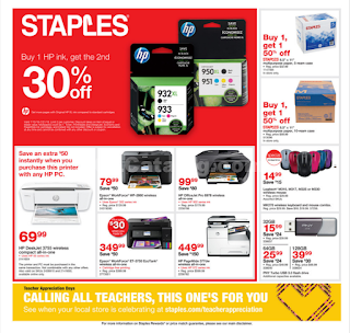 Staples Weekly Ad July 15 - 21, 2018