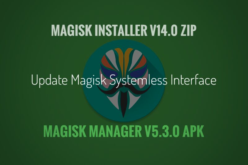 update magisk v14.0 can install without twrp