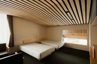 Interior Hotel Kengo Kuma