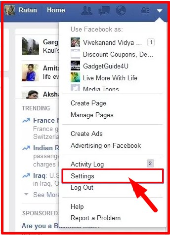 how to block invites on facebook app