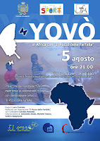 LUNEDÌ 5 AGOSTO 2013 Proiezione Yovò - Villa comunale di Avigliano