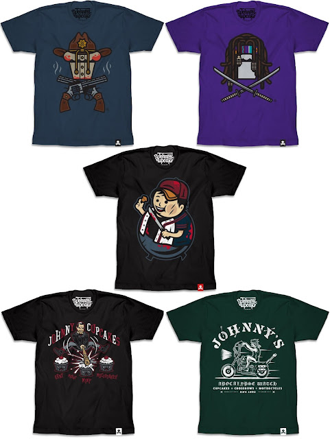 The Walking Dead T-Shirt Collection by Johnny Cupcakes