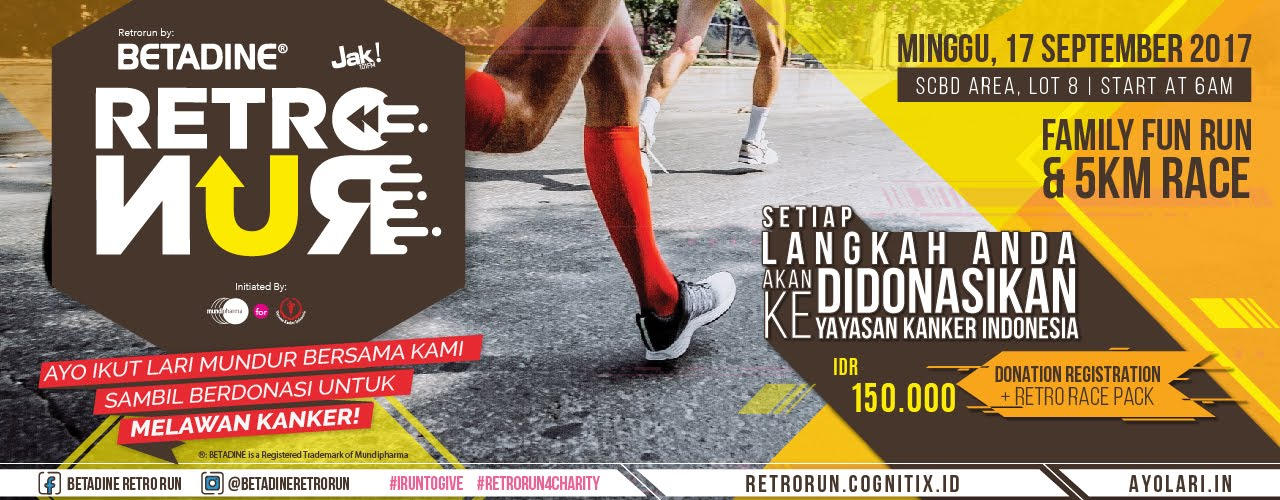 Betadine Retro Run • 2017