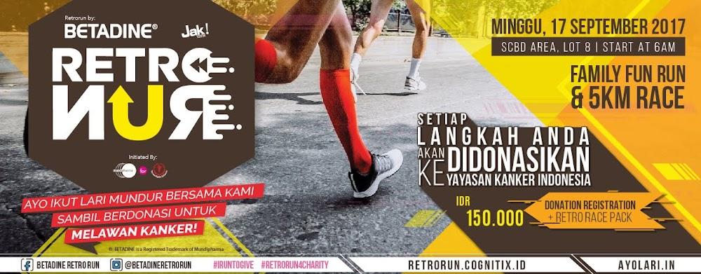Betadine Retro Run • 2017
