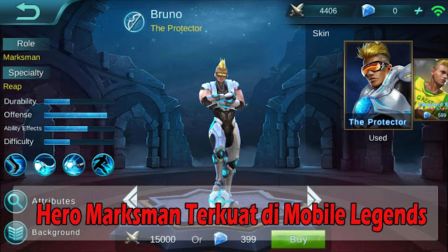 Hero Marksman Terkuat di Mobile Legends