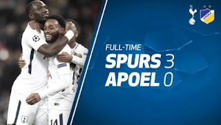 Tottenham Hotspur vs APOEL Nicosia 3–0 Video Gol & Highlights