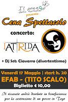 VENERDÌ 17 MAGGIO 2013 Cena - Spettacolo 2013