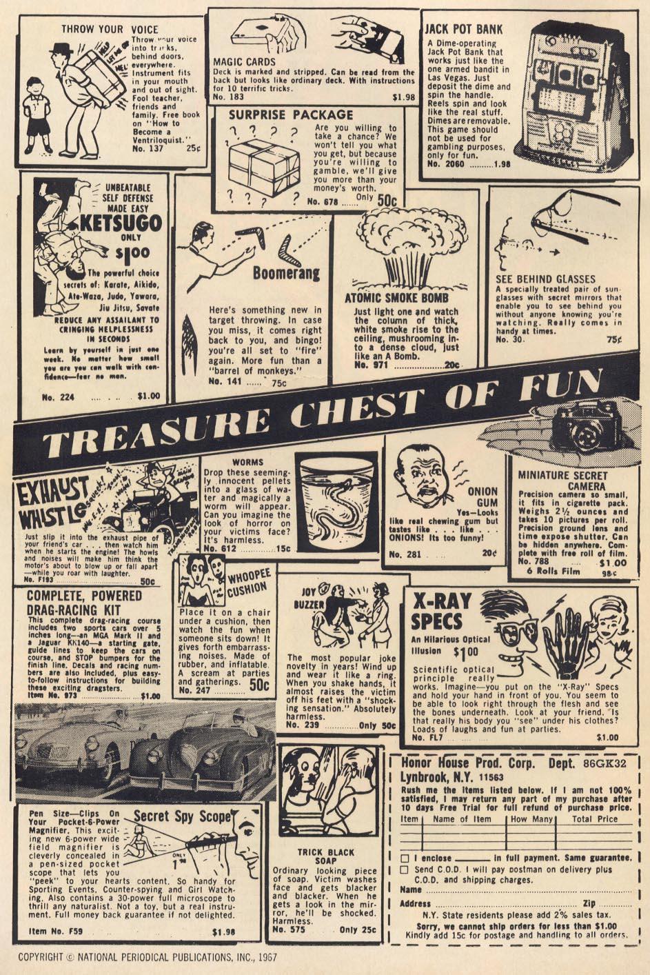 Strange Adventures (1950) 203 Page 1