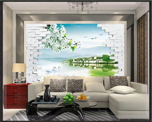 tranh tường phòng khách đẹp giá rẻ nhất bình dương