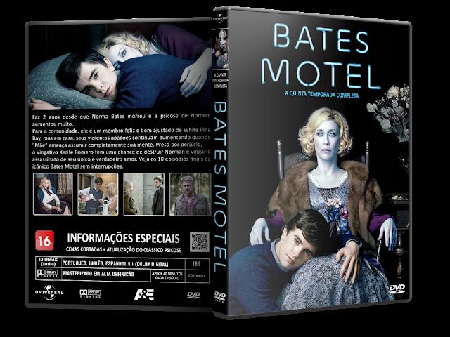 Capa DVD Bates Motel 5ª Temporada Completa [Exclusiva]